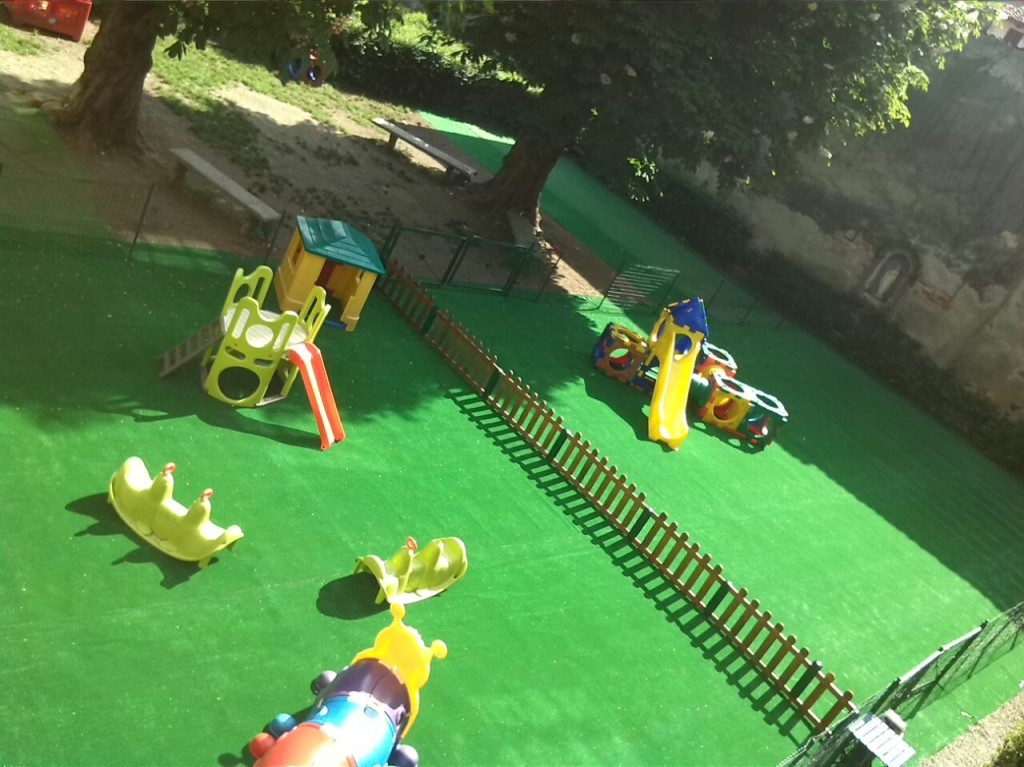 Il Giardino di San Nicola - Il parco giochi