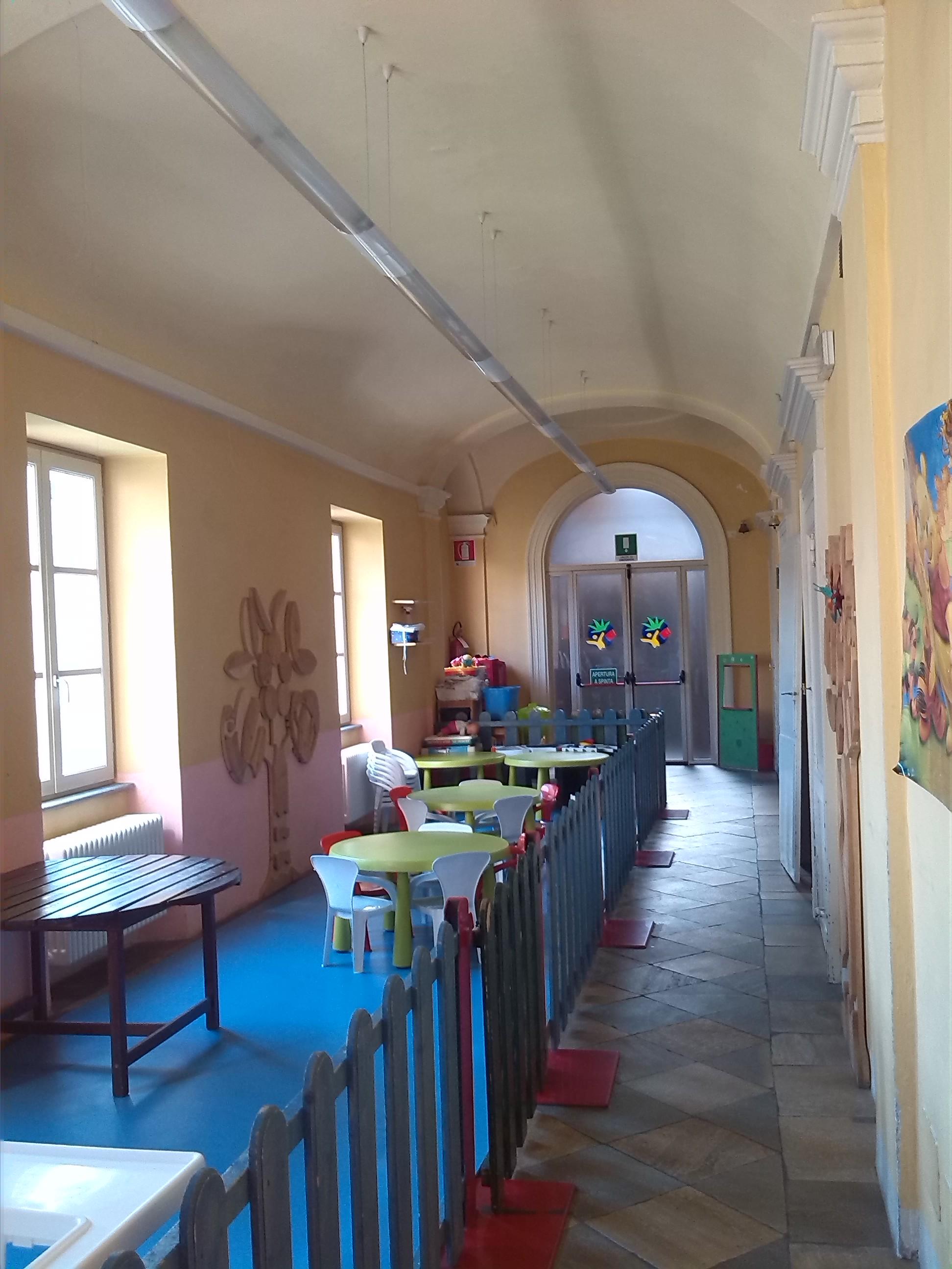 Il Giardino di San Nicola - Veduta degli interni
